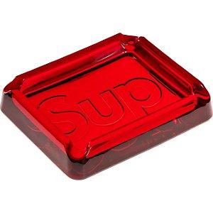 """!SUPREME - Cinzeiro Debossed Glass """"Vermelho"""" -NOVO-"""