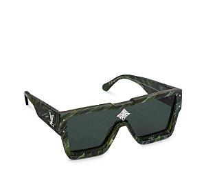 """!LOUIS VUITTON - Óculos Cyclone """"Verde"""" -NOVO-"""