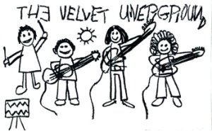 "SUPREME - Adesivo The Velvet Undergroud ""Branco"" -NOVO-"