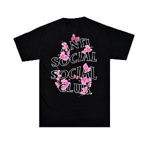 "ANTI SOCIAL SOCIAL CLUB - Camiseta Sugar High ""Preto"" -NOVO-"
