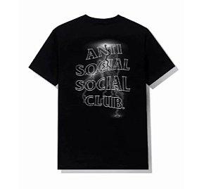"""ANTI SOCIAL SOCIAL CLUB - Camiseta Twisted"""" Preto"""" -NOVO-"""