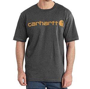 "!CARHARTT - Camiseta Logo Graphic Loose Fit ""Cinza"" -NOVO-"