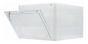 "SNEAKERBOX - Caixa Plástica para Armazenamento (Porta lateral) ""Transparente"" -NOVO-"