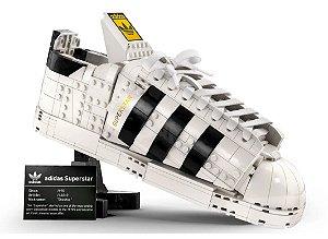 """LEGO - Tênis adidas Originals Superstar """"Branco"""" -NOVO-"""