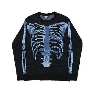 """HIGH - Sweater X-Ray """"Preto"""" -NOVO-"""
