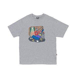 "HIGH - Camiseta Drunk ""Cinza"" -NOVO-"