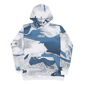 "HIGH - Moletom Melt Logo ""Azul"" -NOVO-"