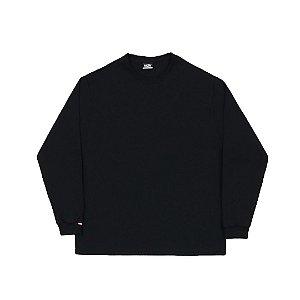 """HIGH - Camiseta Manga Longa """"Preto"""" (Pack c/3) -NOVO-"""