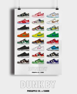 POSTER - Dunk By Pineapple Co. x Vanni -NOVO-