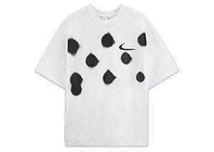 "NIKE x OFF-WHITE - Camiseta Spray Dot ""Branco"" -NOVO-"