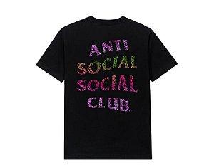 "ANTI SOCIAL SOCIAL CLUB - Camiseta ASSCLUBTRONIC ""Preto"" -NOVO-"