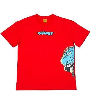"""CARPET COMPANY - Camiseta Fatsmack """"Vermelho""""  -NOVO-"""