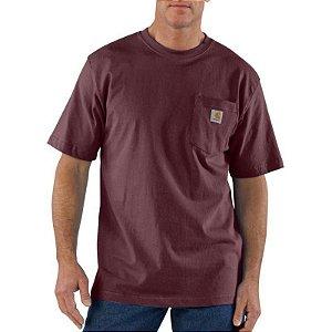 """CARHARTT - Camiseta Pocket Original Fit """"VInho"""" -NOVO-"""