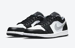 "NIKE - Air Jordan 1 Low ""Black/White/Grey"" -NOVO-"