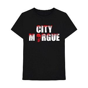 """VLONE x CITY MORGUE - Camiseta Drip """"Preto"""" -NOVO-"""