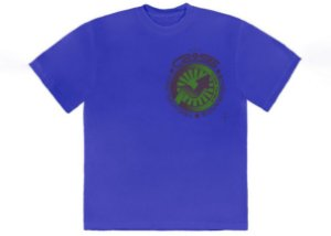 "TRAVIS SCOTT - Camiseta Jack Cross Tech I ""Azul"" -NOVO-"