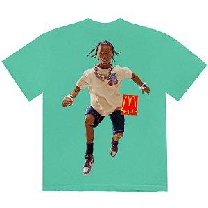 "TRAVIS SCOTT x MCDONALD'S - Camiseta Action Figure Series IV ""Verde"" -NOVO-"