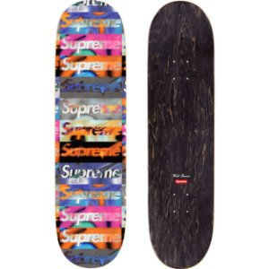 """SUPREME - Shape Skate Distorted Logo """"Preto"""" -NOVO-"""