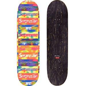 """SUPREME - Shape Skate Distorted Logo """"Amarelo"""" -NOVO-"""