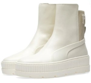 "PUMA x FENTY - Chelsea Sneaker Boot ""Vanilla Ice"" -NOVO-"