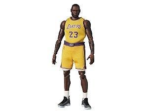 "MEDICOM TOY - Boneco MAFEX LeBron James Lakers ""The Chosen One"" -NOVO-"
