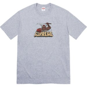 "SUPREME - Camiseta Samurai ""Cinza"" -NOVO-"