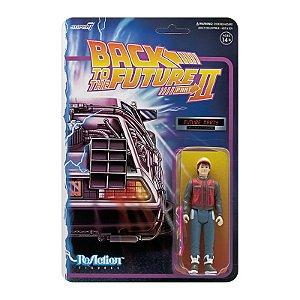"Super7 - Boneco Reaction Back to the Future 2 Wave 1 ""Marty McFly Future"" -NOVO-"