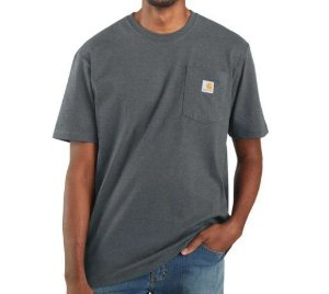 "CARHARTT - Camiseta Pocket Loose Fit ""Elm Heather"" -NOVO-"