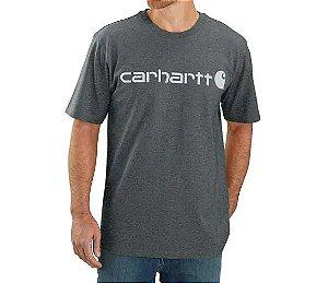 "CARHARTT - Camiseta Logo Graphic ""Elm Heather"" -NOVO-"