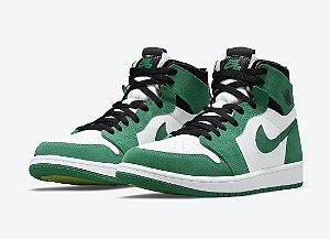 "NIKE - Air Jordan 1 High Zoom Air CMFT ""Stadium Green"" -NOVO-"