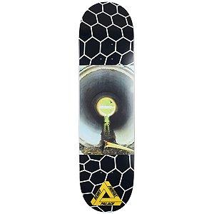 """PALACE x BENNY FAIRFAX - Shape de Skate Pro S12 """"Preto"""" -NOVO-"""