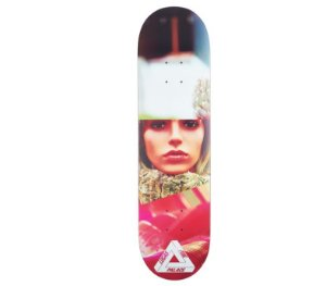 "PALACE x LUCAS PUIG - Shape de Skate Pro S12 ""Multi"" -NOVO-"