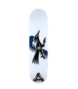 "PALACE - Shape de Skate Roadrunners ""Branco"" -NOVO-"