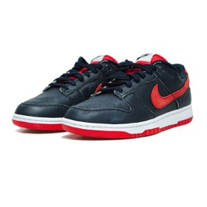 """NIKE - Dunk By Pineapple Co. """"Midnight Navy/Gym Red"""" -NOVO-"""