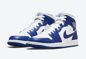 "NIKE - Air Jordan 1 Mid ""Kentucky Blue"" -NOVO-"