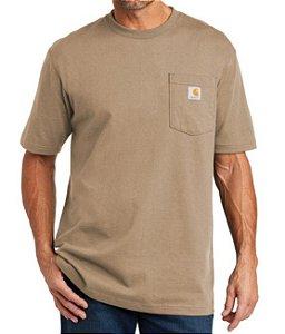 "CARHARTT - Camiseta Pocket Original Fit ""Desert"" -NOVO-"