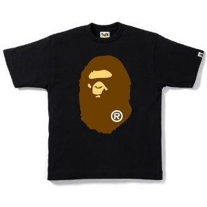 "BAPE - Camiseta Big Head ""Preto"" -NOVO-"
