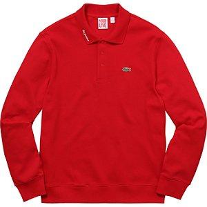 Supreme x Lacoste - Camiseta Jersey Polo