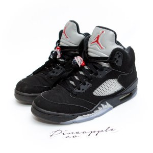 "Nike Air Jordan 5 Retro ""Black Metallic"""