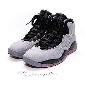 """Nike Air Jordan 10 Retro """"Cool Grey"""" - TAM 46 BR / 13 US"""