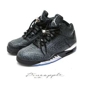 "Nike Air Jordan 5 3Lab5 ""Black Silver"""