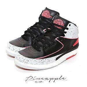 """Nike Air Jordan 2 Retro """"Infrared Cement"""""""