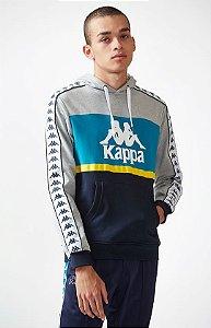 """KAPPA - Moletom Andrews Colorblock """"Blue"""""""