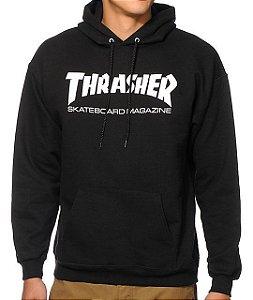 """THRASHER - Moletom Skate Magazine """"Black"""""""