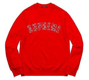 "Supreme x Louis Vuitton - Moletom ""Red"""