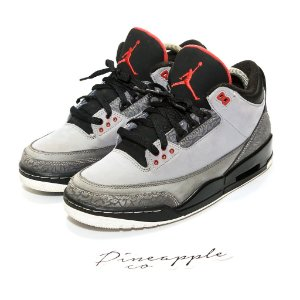 "Nike Air Jordan 3 Retro ""Stealth"""