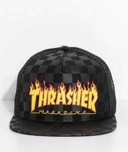 "Vans x Thrasher - Boné Flame ""Black"""