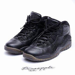 "Nike Air Jordan 10 Retro x OVO ""Black"" -USADO-"