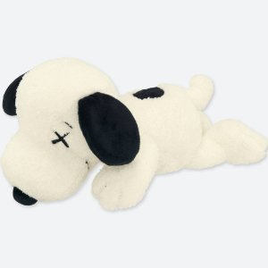 """UNIQLO X Kaws X Peanuts - Pelúcia Snoopy Pequeno """"White"""""""