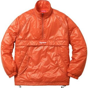 "SUPREME - Jaqueta Contrast Stitch ""Orange"""